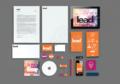 Grafisk profil till LEAD – Edit&björnen reklambyrå