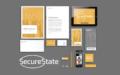 Grafisk profil till Secure State – Edit&björnen reklambyrå