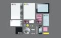 Grafisk profil till Visual Sweden - Edit&björnen reklambyrå